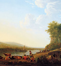 strij van jacob mountainous riverlandscape