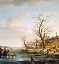 Strij van Jacob Winterlandscape at Drevel