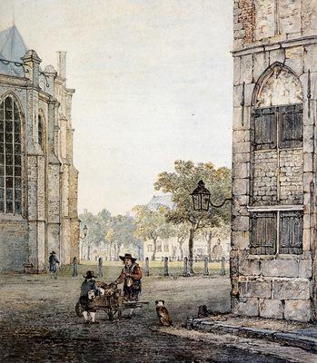Strij van Jacob Grotekerksplein in Dordrecht Sun