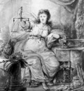 Strij van Abraham Allegory on Coin of Dordrecht Sun