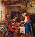 Strij van Abraham The fishsaleswoman Sun