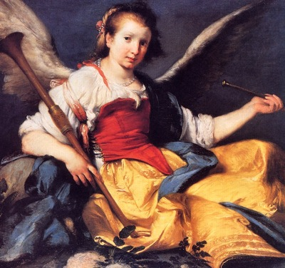 Bernardo Strozzi A Personification of Fame, De