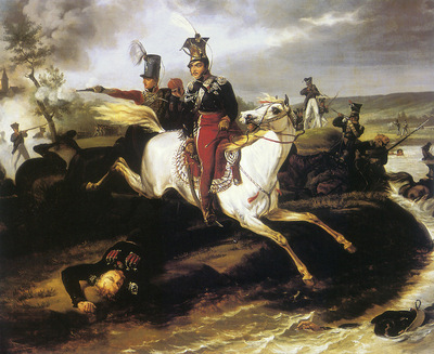 am January Suchodolski Death of Prince Jozef Poniatowski