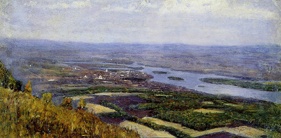 Surikov Vasily View on Krasnoyarsk Sun