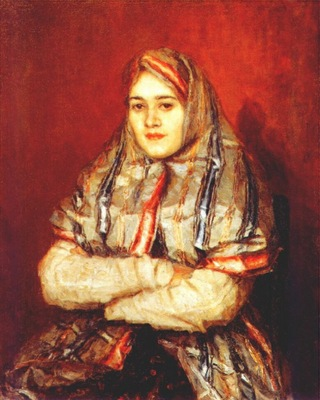 surikov a townswoman alexandra yemelyanova
