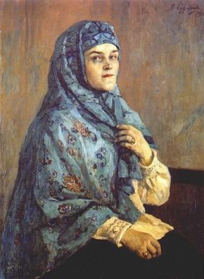 surikov portrait of polina shcherbatova