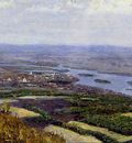 Surikov Vasily View on Krasnoyarsk Sun
