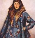 surikov a cossack girl lydia motorina