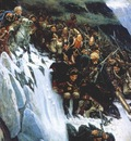 surikov suvorov crossing the alps