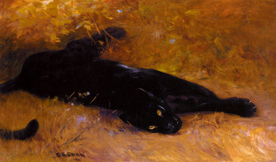 Swan Cuthbert Edmund The Black Panther