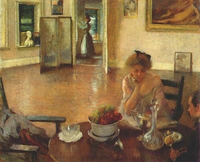 tarbell the breakfast room 1902