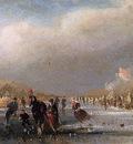 Tavenraat Johannes Ice view with sledge Sun