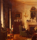 Tayler Albert Chevallier The Grey Drawing Room