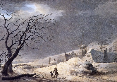Teerlink Abraham The snowstorm