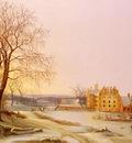 Tengnagel Frederik Michael Ernst Fabritius de A Winter Landscape