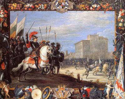 Teniers II David Antonio Manocada repulses Caberra Sun