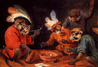lrs Teniers David the Younger Monkey Tavern