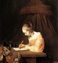Woman Writing a Letter WGA
