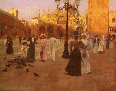 Tessari Romolo Piazza San Marco, Venice
