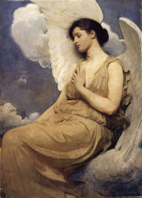 Thayer Winged figure