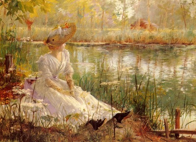 Theriat Charles James A Beauty By A River