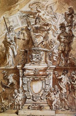 Thulden van Theodoor Allegory United Province Sun