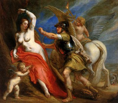 Thulden van Theodoor Perseus frees Andromeda Sun