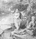 Thulden van Theodoor Minerva and Odyseus at Telemachus Sun