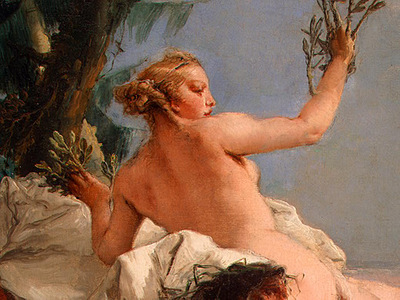 tiepolo apollo pursuing daphne, ca 1755 60, 68 5x87 cm, de