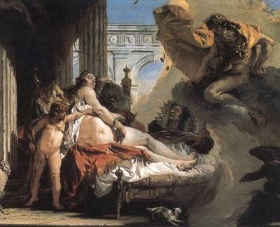 Tiepolo Jupiter and Danae