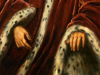 tintoretto a procurator of saint marks, detalj 2, 1575