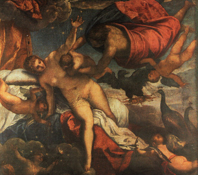 TINTORETTO THE ORIGIN OF THE MILKY WAY, 1570,NGLONDON
