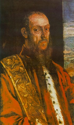 tintoretto portrait of vincenzo morosini, c 1580, 84 5x51