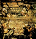 Tintoretto The Adoration of the Shepherds, 1579 81, 542x455