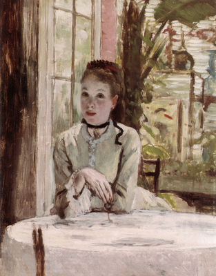 A Woman in an elegant Interior