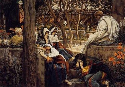 Tissot Jesus at Bethany