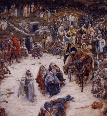 Tissot What Our Saviour Saw from the Cross