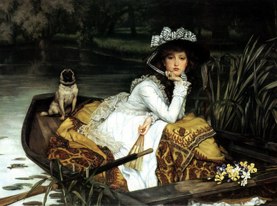 ger Tissot YoungLadyInABoat