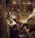 Tissot Jesus at Bethany