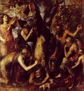 TIZIANO THE FLAYING OF MARSYAS, STATE MUSEUM KROMERIZ