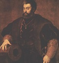 TIZIANO PORTRAIT OF ALFONSO DESTE, METROPOLITAN MOA