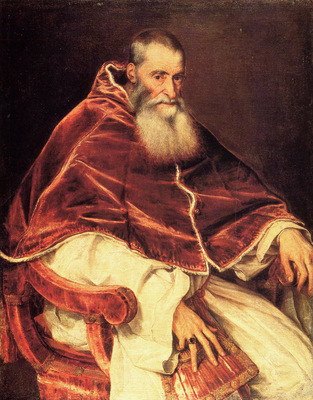 titian pope paul