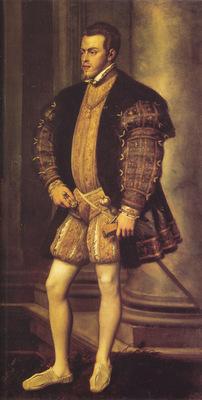 Titian Portrait of Philip II