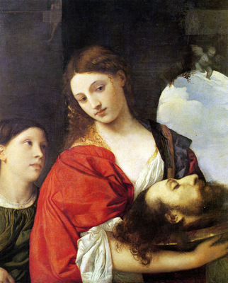 titian salome 1512