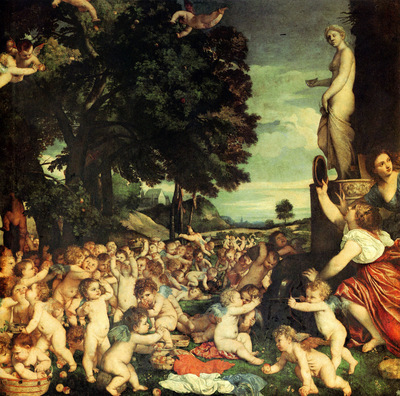 titian the worship of venus 1516