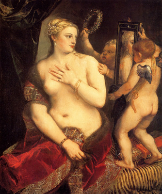 titian venus in front of the mirror 1553