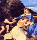 Titian Madonna Child, De