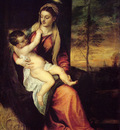 titian mary with the christ child