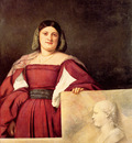 titian portrait of a woman called la schiavona 1508