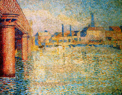Toorop Jan Bridge in London Sun